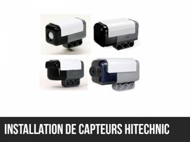 Installation de capteurs HiTechnic