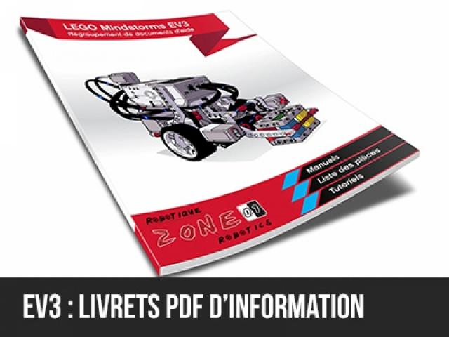 Livrets EV3