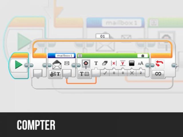Compter dans le logiciel EV3