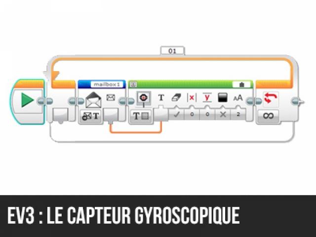 Le Capteur gyroscopique en EV3