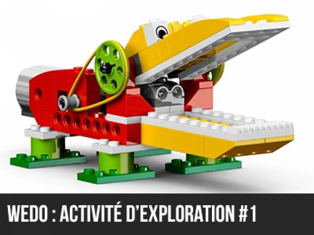 Wedo : Activité d'exploration #1