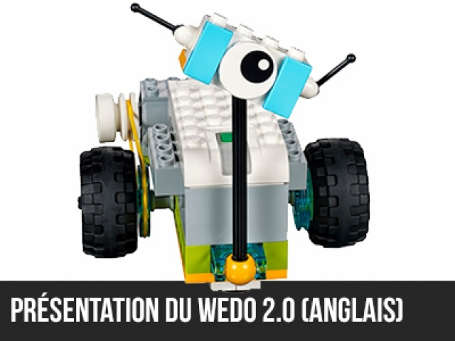 Présentation du Wedo 2.0 (En anglais)
