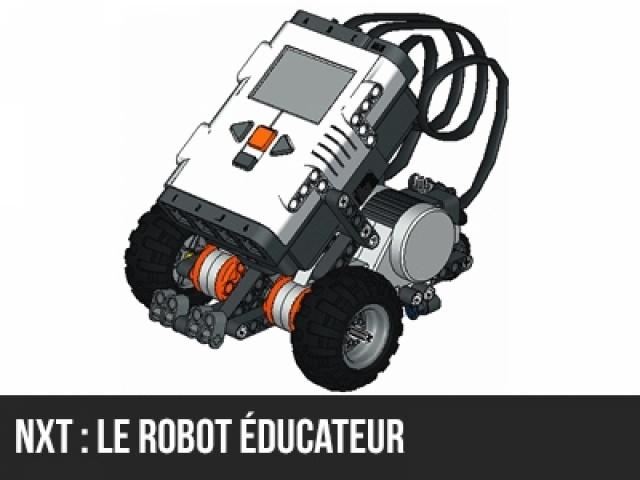 NXT : Le robot éducateur