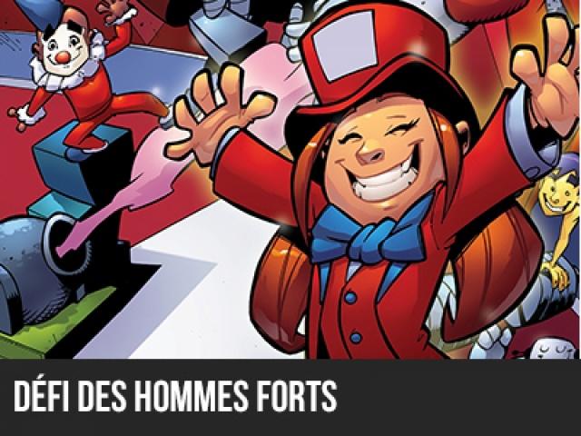 Robocircus 2014 - Défi Des hommes forts - Junior