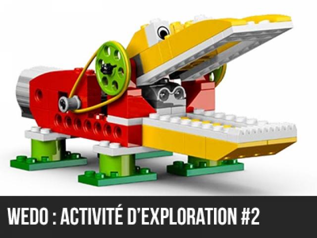 Wedo : Activité d'exploration #2