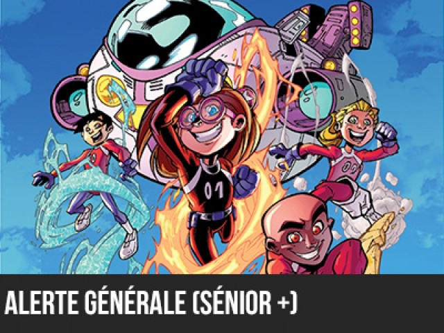 2016 - 5e élément - Alerte générale - Catégorie Sénior+