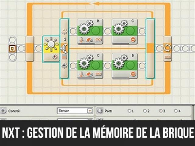 NXT : Gestion de la mémoire des briques programmables