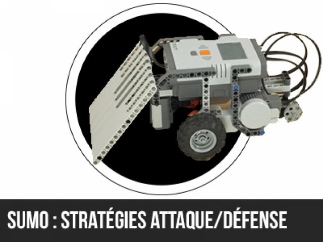 Sumo Junior : Stratégies d'attaques  et de défense