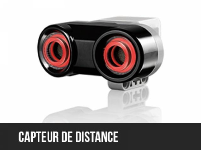 Usage du capteur de distance EV3