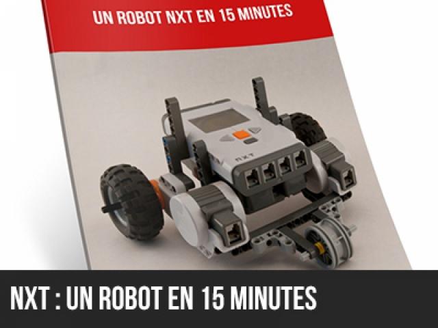 Un robot en 15 min pour NXT