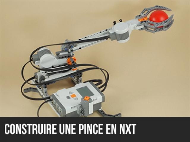 Construire une pince en NXT