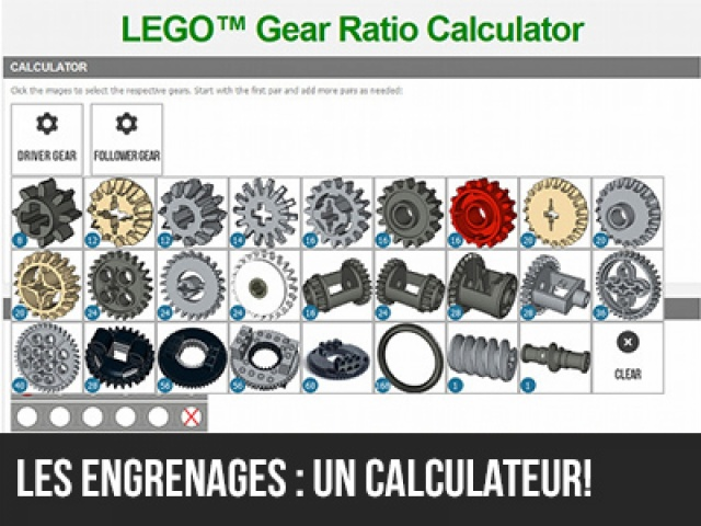 Un calculateur d'engrenages