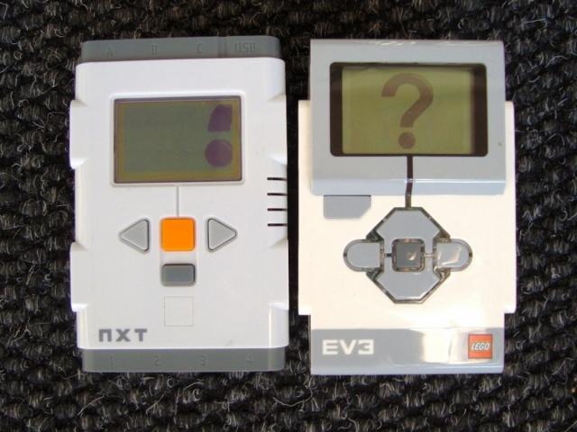 NXT et EV3, 100% compatibles ?