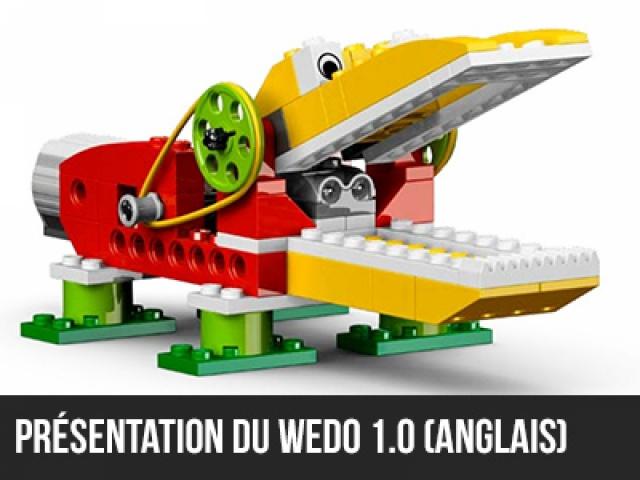 Présentation du Wedo 1.0 (En anglais)