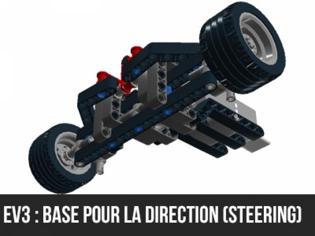 EV3 : Fabriquer une colonne de direction (Steering)